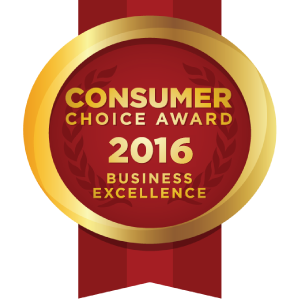 2016 Consumer Choice Award Winner